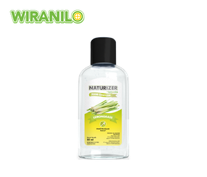 Hand Sanitizer Naturizer Lemongrass Gel 50 ml - Wiranilo