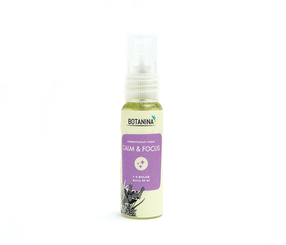 Botanina Aromatherapy Spray Calm & Focus 30 ml