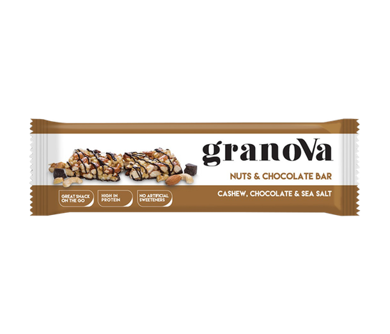 Granova Nuts & Chocolate Bar 38 gr