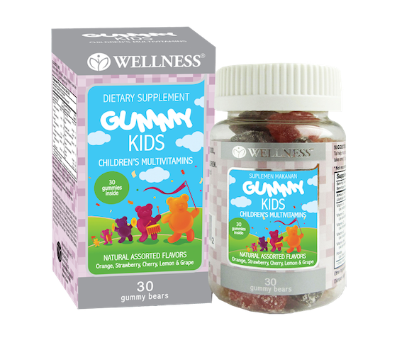 Wellness Gummy Kids 30 Gummies